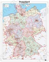 Postcodekaart Duitsland