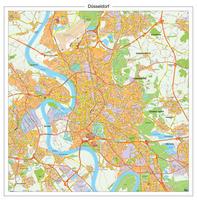 Digitale stadsplattegrond Düsseldorf 180