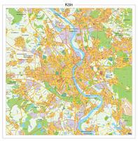 Digitale kaart Keulen / Köln 141