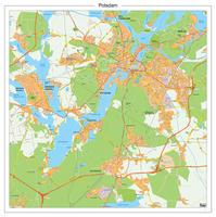 Digitale stadsplattegrond Potsdam 181