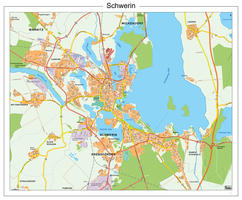 Digitale stadsplattegrond  Schwerin 186