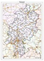 Digitale kaart Hessen 111