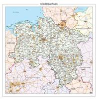 Digitale Kaart Niedersachsen 118