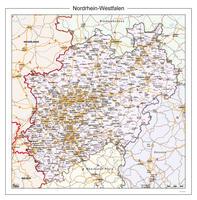 Digitale kaart Nordrhein-Westfalen 108