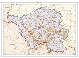 Digitale Kaart Saarland 119