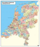 Digitale 3 ppc kaart Nederland