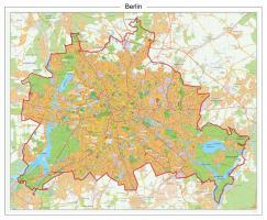 Digitale Stadsplattegrond Berlijn 524