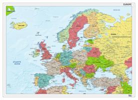 Digitale kaart van Europa staatkundig 1281