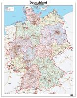 Digitale Postcodekaart Duitsland 286