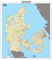Digitale Postcodekaart Denemarken