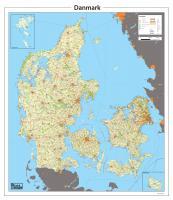 Digitale Kaart Denemarken