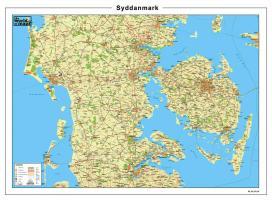 Digitale Kaart Syddanmark 66