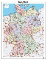 Digitale Postcodekaart Duitsland