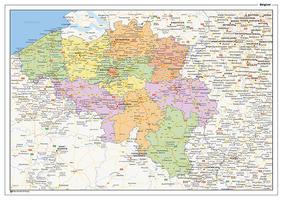 Staatkundige landkaart België