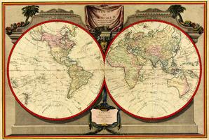 Digitale Wereldkaart Lauri en Whittle