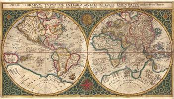 Wereldkaart Petro Plancio