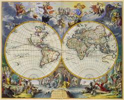 Wereldkaart Johannes de Ram