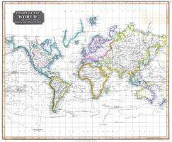 Wereldkaart John Thomson