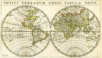 Digitale Wereldkaart Totius Terrarum