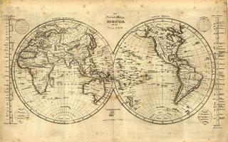 Wereldkaart Lahainaluna