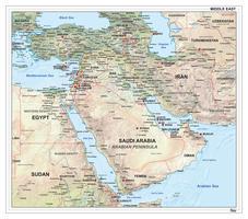 Midden Oosten natuurkundig 1311