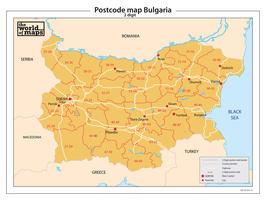 Bulgarije 2-cijferige postcodekaart 74