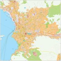 Digitale kaart Marseille 484