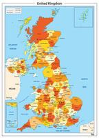 Verenigd Koninkrijk met Graafschappen