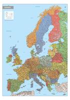 Digitale Europa Kaart Staatkundig