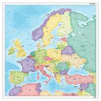 Digitale  Europakaart staatkundig