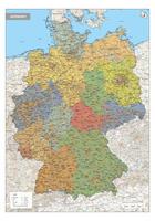 Duitsland Kaart Staatkundig