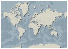 Decoratieve Wereldkaart Floatr 1396