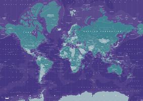 Wereldkaart Galactic