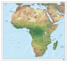Digitale Afrika natuurkundig 1288