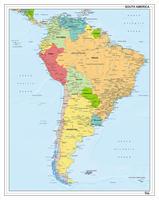 Digitale Zuid-Amerika staatkundig 1280