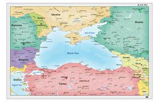 Landen rondom de Zwarte Zee