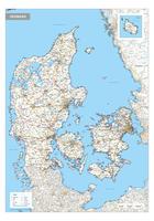 Wegenkaart Denemarken