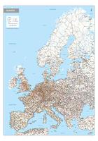 Wegenkaart Europa