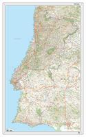 Wegenkaart Portugal