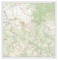 Wegenkaart Servië