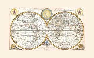 Wereldkaart d'Abbeville