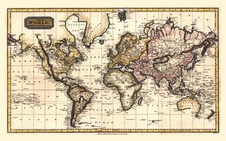 Wereldkaart Finley