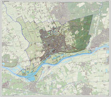 Digitale kaart Wageningen 1212