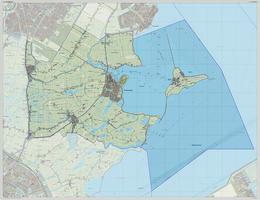 Digitale kaart Waterland 1214