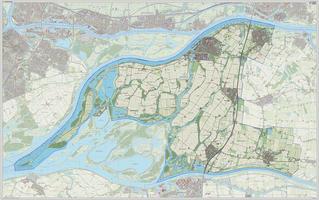 Digitale kaart Werkendam 1217