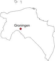 Gratis digitale kaart Groningen