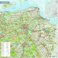 Topografische kaart Groningen