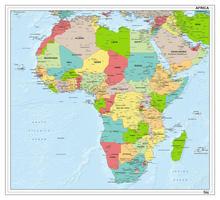 Afrikakaart staatkundig 1282