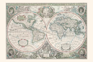 Wereldkaart Hondius