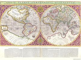 Wereldkaart Rumold Mercator
